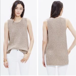 Madewell sleeveless knit top